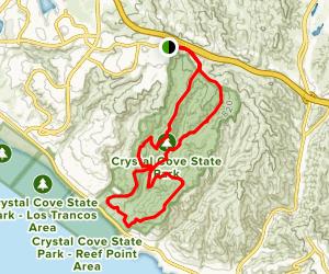 Crystal Cove Double Loop Map