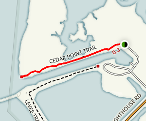 Cedar Point Trail Map