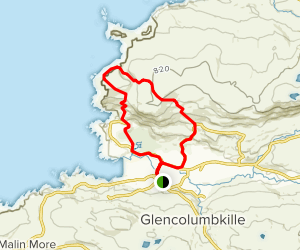 Glencolumcille Tower Loop Map