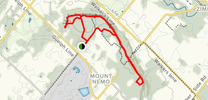 Mount Nemo Conservation Loop Map