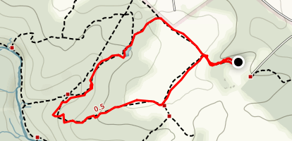 Barley Pond Loop Map