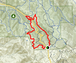 Clyma, Highland Ridge, Stone Corral and Coyote Loop Map