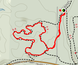 Pine Grove Loop via Connector Trail Map