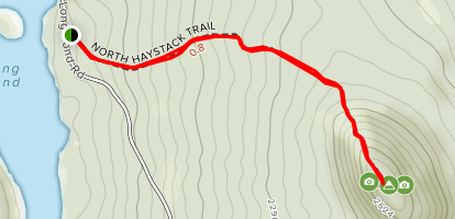 Haystack Mountain [PRIVATE PROPERTY] Map