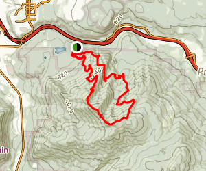 West Tiger Mountain Loop Map