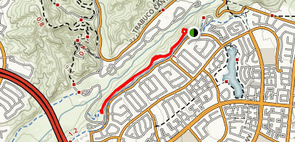 Upper O'Neill Trail Map