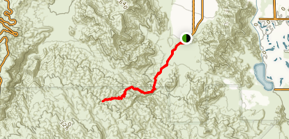 Bear Creek Canyon Trail Map