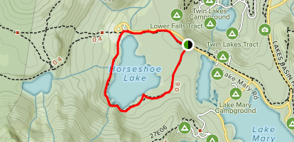 Horseshoe Lake Loop Map