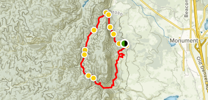 Mount Herman and Raspberry Mountain Loop via Whilte Ghost Trail Map