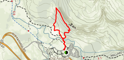 Solitary Geyser Map