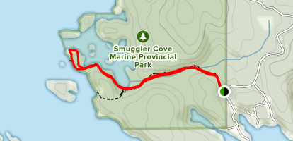 Smugglers Cove Map