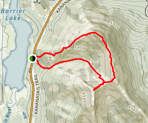 Mount Baldy Trail Map