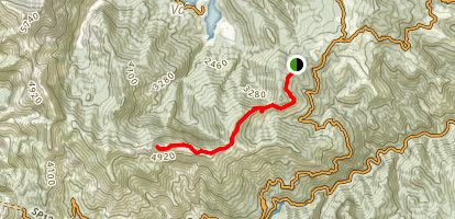 Mount Sumbra Trail Map