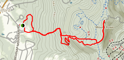 Mt. Rowe  Map