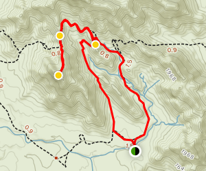 Turnbuckle, Valley Vista and Mountain Wash Loop Map