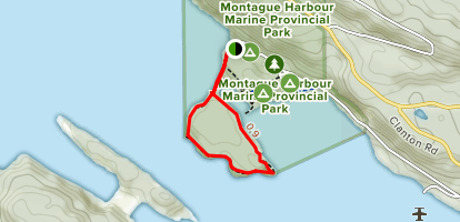 Gray Point Trail Map