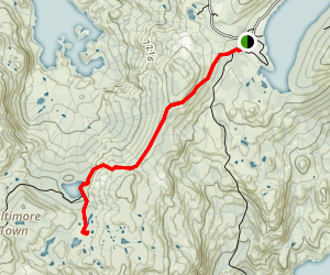 Baltimore Lake Trail Map