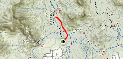 Seven Sacred Pools Via Soldier Pass Trail Map