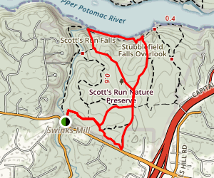 Woodland Trail Loop Map