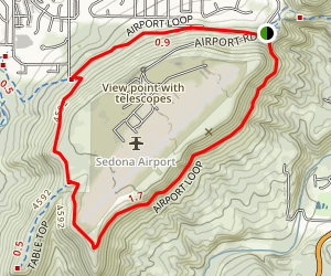 Airport Loop Trail Map