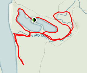 Izaak Walton Ponds Map