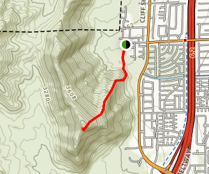 Cheyenne Mountain Map