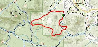 Rock Wren Loop Map