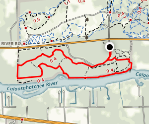 Oxbow Loop Trail Map