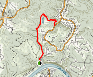 Riverplace Nature Trail Map