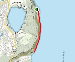 Nyack-Havestraw Trail Map