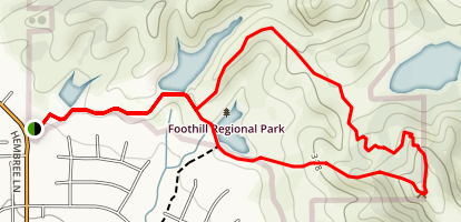 Alta Vista Trail Loop Map