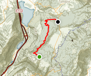 Strada del Taffarel Map