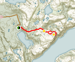 Preikestolen Trail (Pulpit Rock) Map