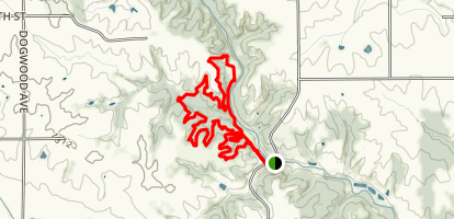 Long Creek trail Map