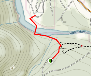 Stout Grove Bridge Map