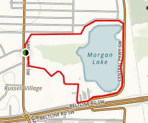 Wilson Morgan Trail Map