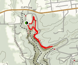 Clifty Falls Trail 7 Map