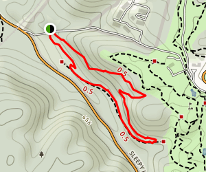 Benny Vastine Trail Map