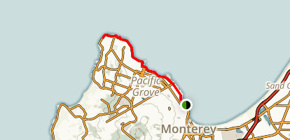 Monterey Bay Coastal Trail Map