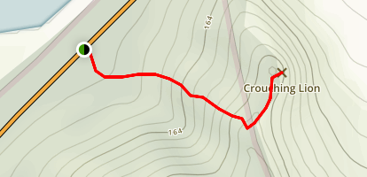 Crouching Lion Trail Map