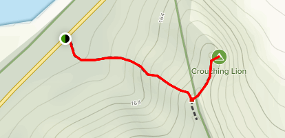 Crouching Lion Trail  [CLOSED] Map