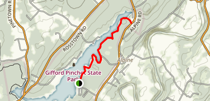 Pinchot Lake Map