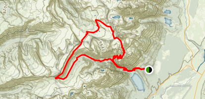 Death Canyon Loop Map