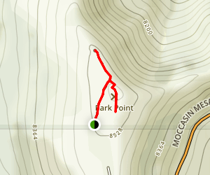 Park Point Overlook Trail Map