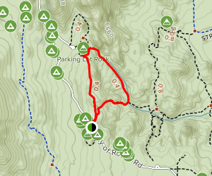 Creekside Towers Trail Map