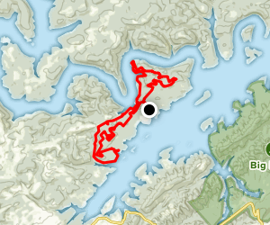 Loyston Point Trails Map