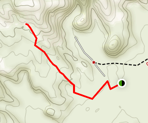 Moonshine Arch Map