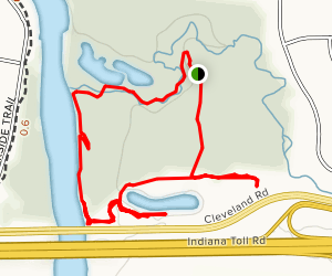 Izaak Walton 3rd Pond - Upper Ridge Map