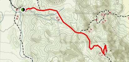 Lost Horse Mine Trail Map