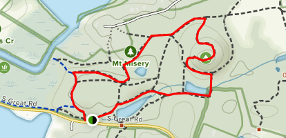 Mount Misery Loop Map